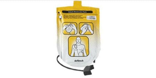 piastre adulto Defibtech Lifeline AED