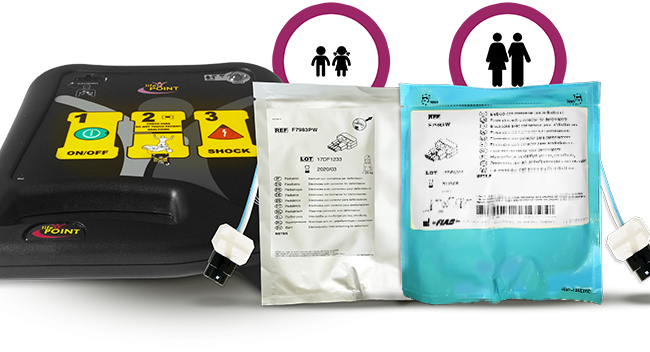 Elettrodi Adulto METSIS Lifepoint Pro AED