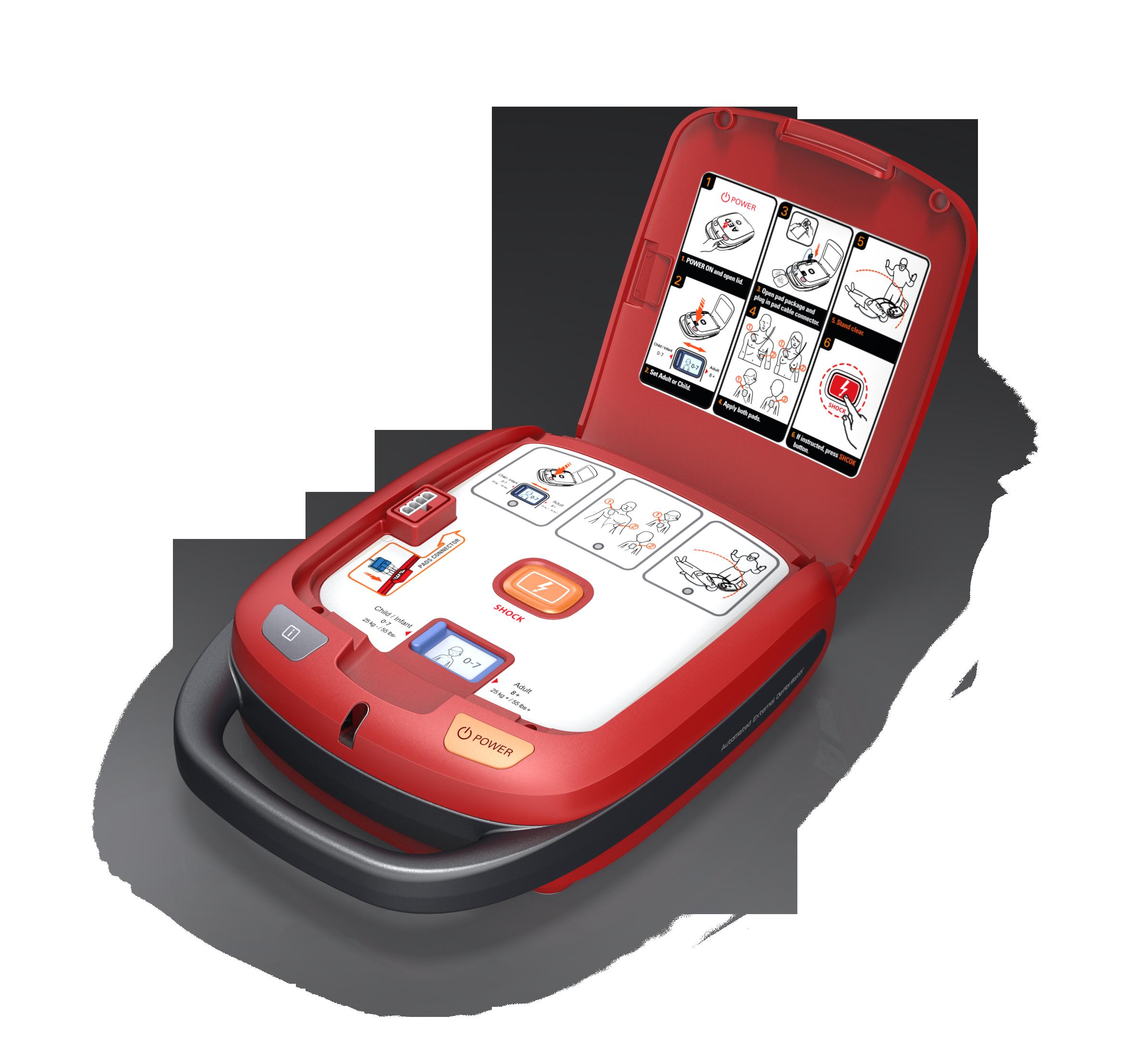 Defibrillatore semi automatico Heart Guardian