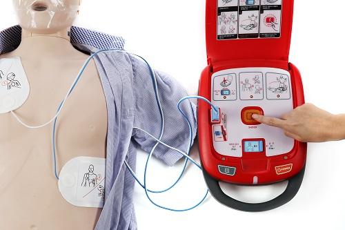 Defibrillatore semi automatico HR-501 Radian Q Bio